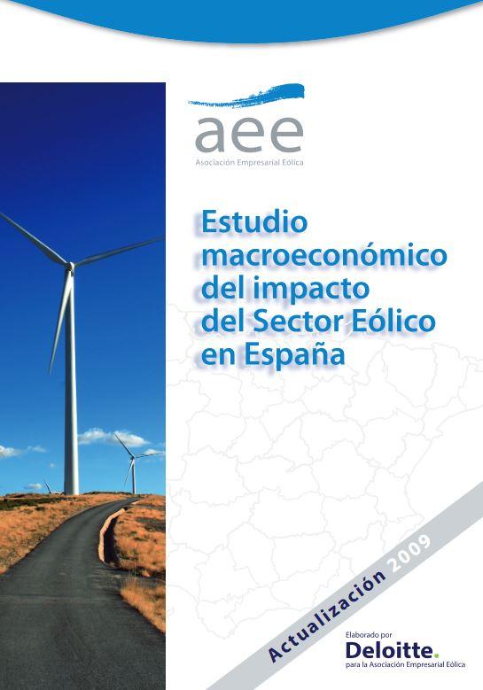 Estudio macroeconómico del sector eólico español – Actualización 2009