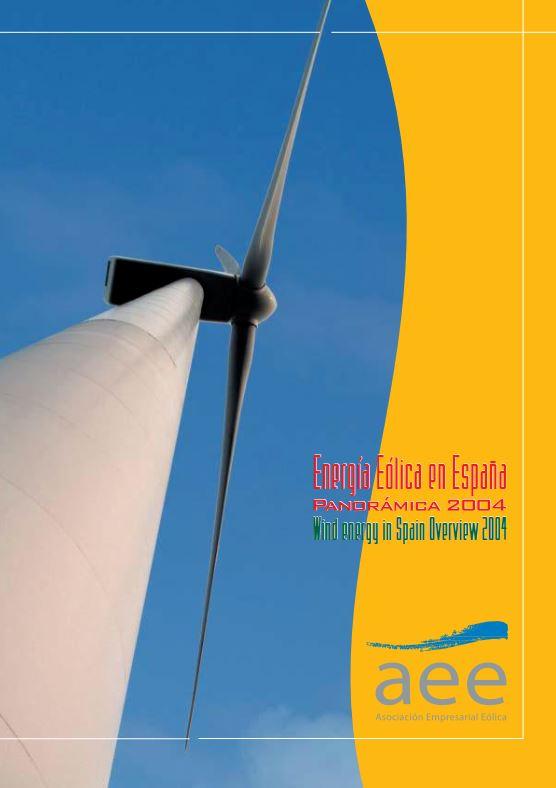 Energía eólica en España panorámica 2004