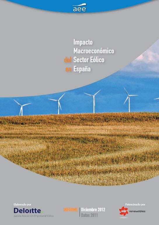 Estudio macroeconómico del sector eólico español. Actualización 2012