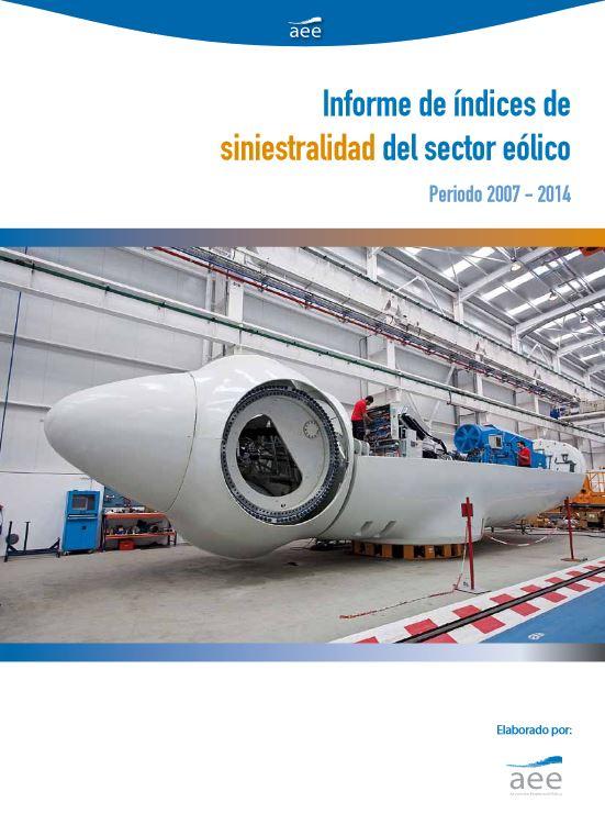V Informe de siniestralidad del sector eólico (2007-2014)