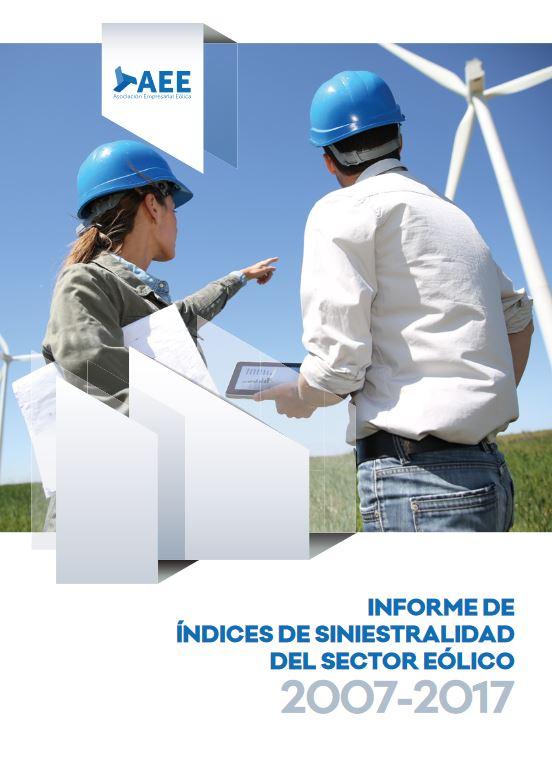 VIII Informe de índices de siniestralidad del sector eólico (2007-2017)