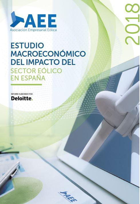 Estudio Macroeconómico del Impacto del Sector Eólico en España. Datos 2018